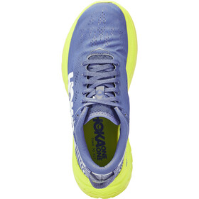 Hoka One One Carbon X Running Shoes Women amparo blue/evening primrose